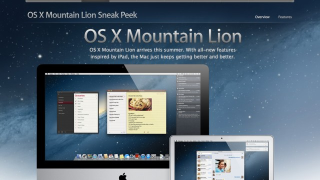 Digitalblog Neues Betriebssytem Mountain Lion