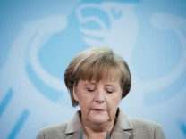 Bundeskanzlerin Merkel zu Wulff-Ruecktritt