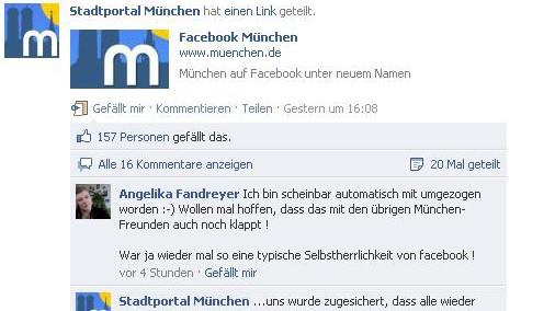 Facebook München