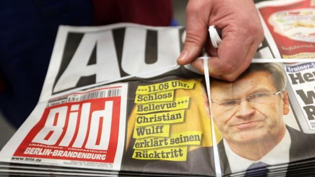 Christian Wulff, Rücktritt, Bundespräsident, Presseschau, Reaktionen
