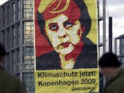 Klimaschutz, Merkel, ddp