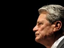 Von der FDP als neuer Bundespräsident befürwortet: Joachim Gauck
