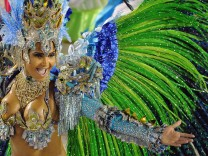 Rio de Janeiro Brasilien Karneval Samba