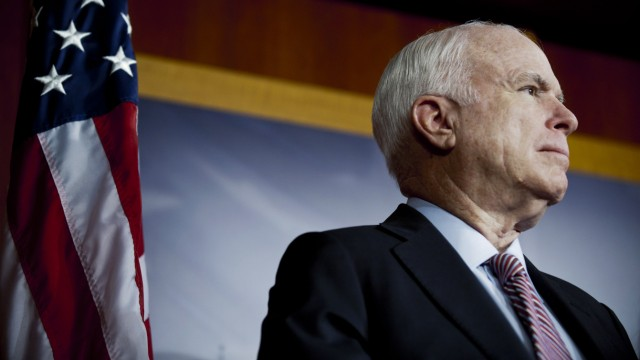 McCain, Senate Republicans Discuss Defense Spending Sequestration