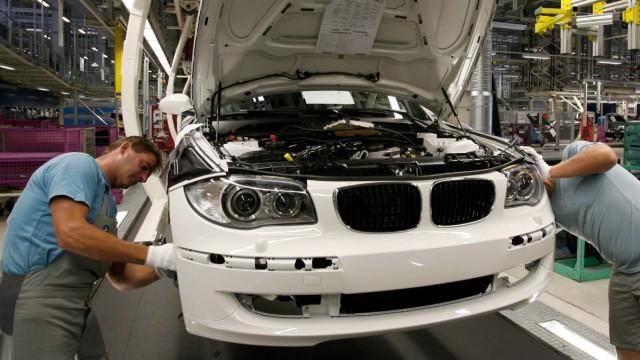 Streit um Leiharbeiter bei BMW Leipzig
