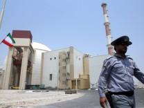 Atomkraftwerk in Bushehr