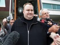 Megaupload founder Kim Doctom released on bail