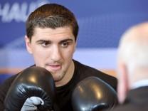 Öffentliches Training WM-Boxkampf Huck - Powetkin