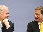 Horst Seehofer, Guido Westerwelle, Kurt Kister, Deutscher Alltag