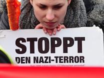Großkundgebung gegen Rechtsextremismus