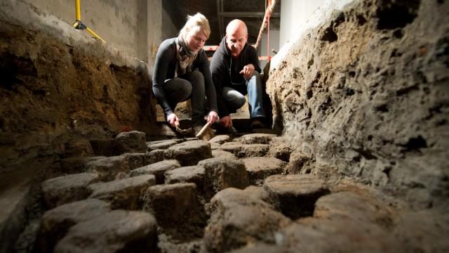 Reste eines mittelalterlichen Klosters entdeckt