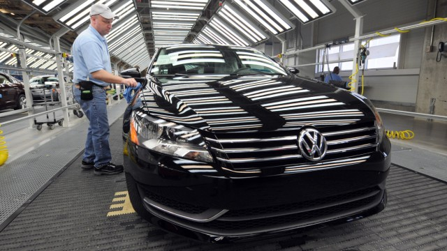 Volkswagen assembly plant in Chattanooga, Tennessee