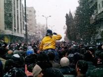 Syria unrest Damascus