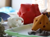 Ein Hauch Science Fiction: 3D-Drucker spucken Gegenstände aus