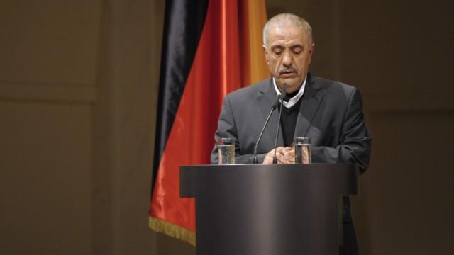 Zentrale Gedenkfeier fuer Opfer von Rechtsterrorismus