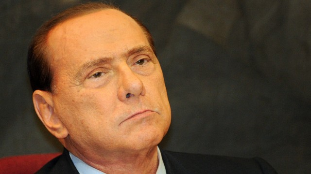 Silvio Berlusconi Bestechungsprozess in Italien