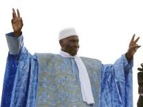 President of Senegal Abdoulaye Wade election rally in Dakar ,Sene