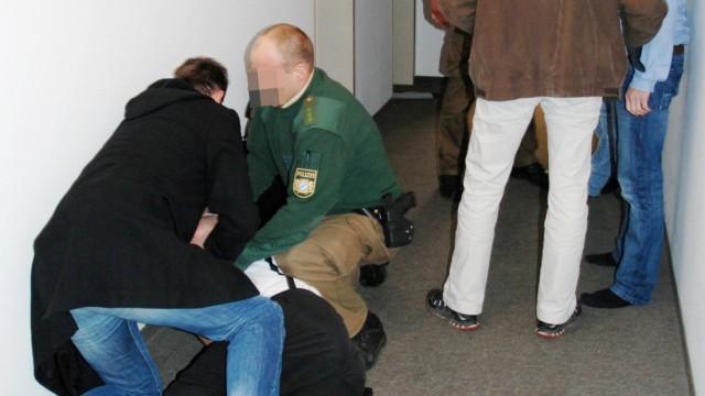 Prozess um umstrittenen Polizeieinsatz