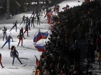 Biathlon Weltcup Ruhpolding - Massenstart Fraiem
