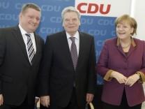 Joachim Gauck stellt sich den Parteien vor