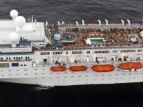 Costa Allegra adrift off Seychelles