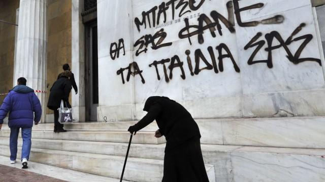 """Schuldenkrise in Europa Ratingagentur stuft Griechenland auf """"teilweise zahlungsunfähig"""""""