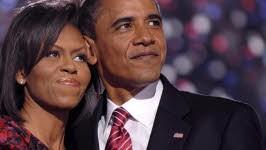 Barack; Michelle; Obama; dpa