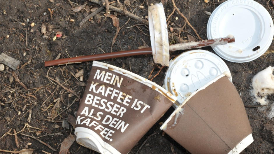 Umweltschutz Coffee to go
