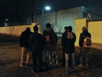 Jugendliche Flüchtlinge aus Afghanistan in München im Hungerstreik, 2012