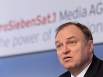 Jahrespressekonferenz der ProSiebenSat. 1 Media AG
