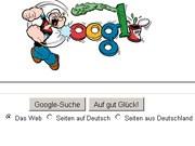 Google Logo Popeye