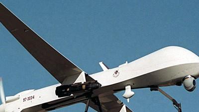 Drohne Drohnen ausspioniert