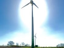 Windparkanlage Wolkenwehe