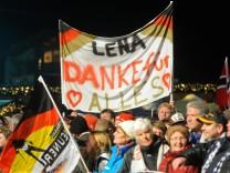 Neuner-Gold facht Lena-Mania an