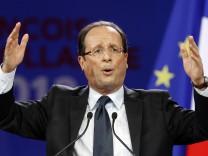 'Spiegel': Merkel will Sarkozy-Konkurrenten Hollande nicht empfangen