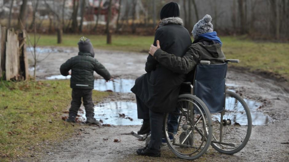 Handicap Behinderte Frauen mit Kinderwunsch
