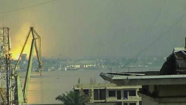 Explosion in Brazzaville Explosionsserie in Republik Kongo
