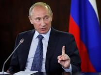 KINA - Wladimir Putin: Sportler und Macht-Mensch
