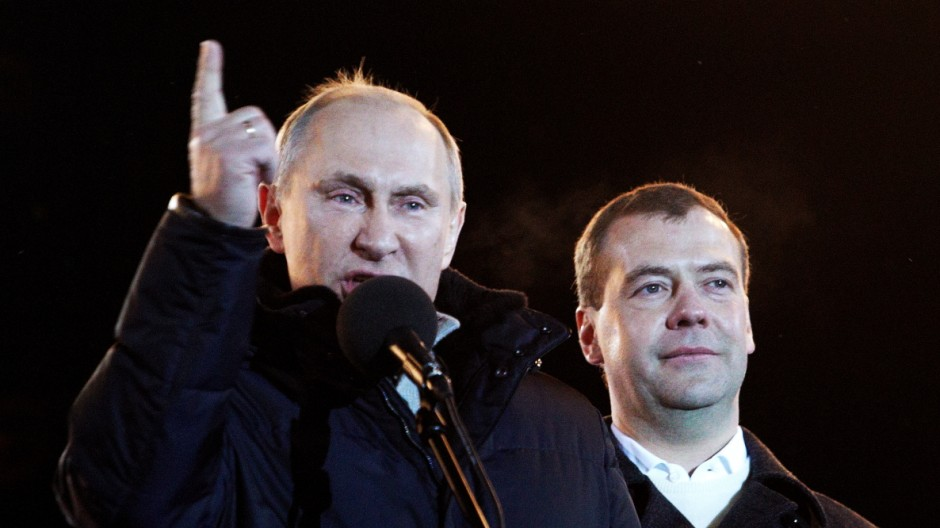 Vladimir Putin Declared Winner In Russia's Presidential Election