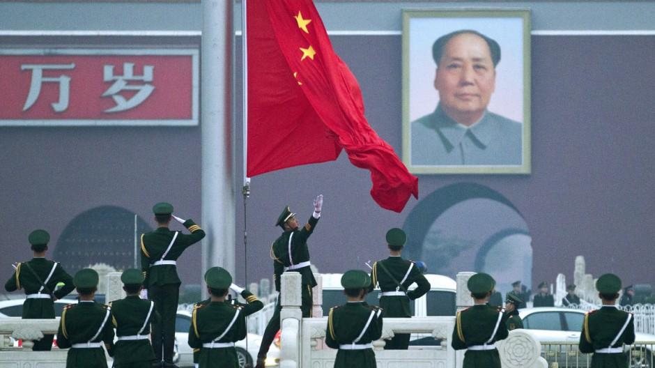 Kommunistische Partei Volkskongress tritt zusammen