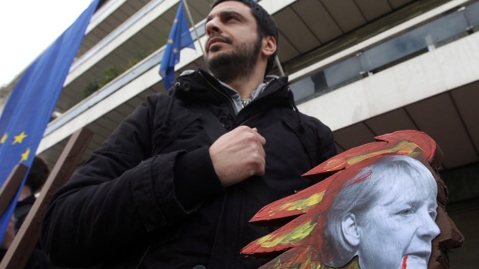 Greek austerity protest
