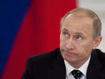 Früher Präsident, noch Premierminister, bald wieder Präsident: Russlands starker Mann Wladimir Putin.