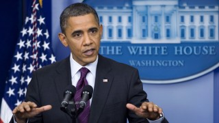 President Obama holds White House press conference.