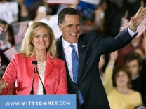 Mitt Romney Holds Super Tuesday Primary Night Event In Boston