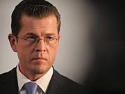 Verteidigungsminister Karl-Theodor zu Guttenberg (CSU) ddp