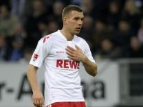 Mit dem Herzen ist Podolski noch in Koeln