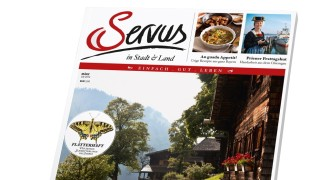 Titel der ersten Ausgabe von Servus in Stadt & Land Bayern