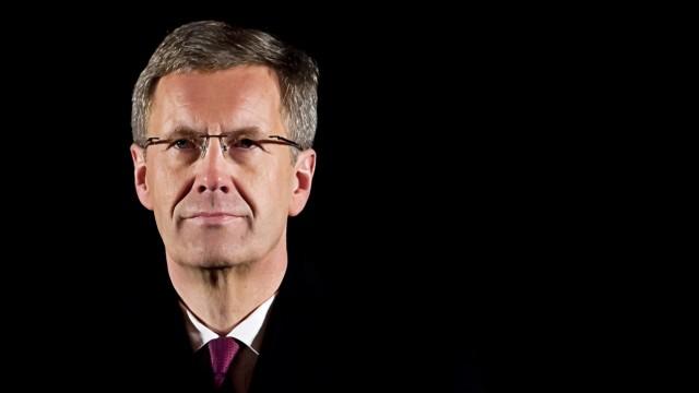 Grosser Zapfenstreich fuer Christian Wulff