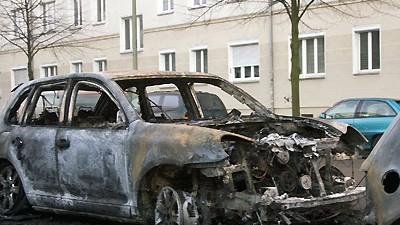 Brandanschlag Gewalt in der Hauptstadt