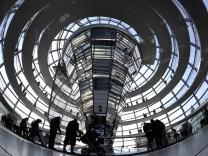 Ausflug in die Reichstagskuppel